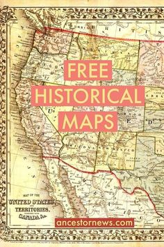 resource of free historical maps - great for understanding the world in which an ancestor lived.Great resource of free historical maps - great for understanding the world in which an ancestor lived. Amazing TV Unit Design Ideas For Your Living Room ° Free Genealogy Sites, Genealogy Forms, Genealogy Research, Family Genealogy, Free Genealogy Records, Genealogy Quotes, Einstein, Genealogy Organization, Historical Maps