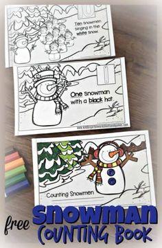 Preschool Books, Free Preschool, Kindergarten Activities, Preschool Winter, Toddler Preschool, Preschool Ideas, Kindergarten Library, Preschool Curriculum, Preschool Printables