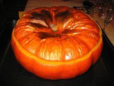 Soupe de citrouille, pommes de terre et lardons fumés Buffet, Pumpkin, Vegetables, Food, Fall Things, Hui, Halloween, Gourd, Vegetarian Meal
