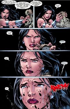 Honestly one of the first times I ugly cried with reading a comic... Donna Troy