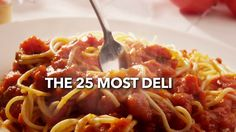 The 25 Most Delish Spaghettis: Wait—there's more than just tomato sauce and meatballs?