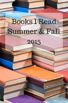 Fiction, nonfiction, biographies, and Bible studies I read and recommend.