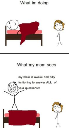 Moms in the morning..
