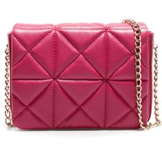 Zara Mini Quilted Shoulder Bag ($20) ❤ liked on Polyvore featuring bags, handbags, shoulder bags, clutches, bolsas, accessories, purses, mini purse, quilted handbags and mini shoulder bag