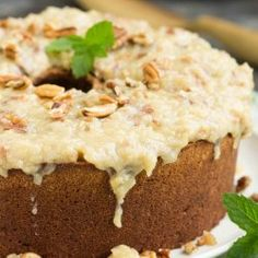 Not your traditional German Chocolate Cake, my German Chocolate Pound Cake with Coconut Pecan Frosting recipe is full of rich chocolate then topped with a sweetened coconut and toasted pecan icing. Best Pound Cake Recipe, Pound Cake Recipes, Frosting Recipes, Pound Cakes, Southern Pecan Pound Cake Recipe, Chocolate Pound Cake, German Chocolate, Chocolate Frosting, Fun Desserts