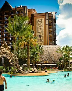 Disney's Aulani Resort in Hawaii - absolutely the best family-oriented resort ever!