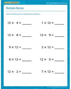 31 Best Places To Visit Images 2nd Grade Class, 2nd Grades, Division Printable Multiplication Worksheets 8th Grade Use This Multiple Series From Math Blaster To Test Your Students\u0027 Speed Keep Challenging