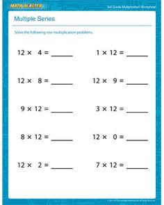Multiplication Madness - Printable Multiplication Worksheet for ...