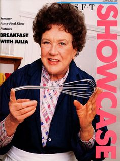 """NASFT Showcase magazine (June 1990) featuring """"Breakfast with Julia"""" at the Summer Fancy Food Show #Happy100thJulia"""
