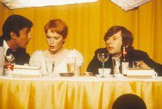STEVE SCHAPIRO (AMERICAN, B. 1934) Mia Farrow, Robert Evans, Roman Polanski, Hollywood, American, Kansas City, Usa, U.s. States