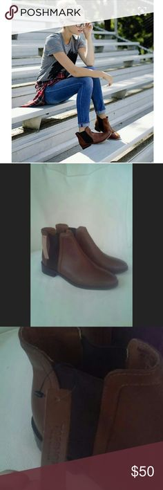 New Topshop Chelsea Boots Leather , sleek and comfy a wardrobe staple Topshop Shoes Ankle Boots & Booties