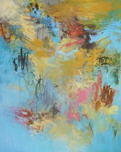 """Suspended  60"""" x 48""""  ©Audrey Phillips at Circa Gallery"""