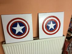 Captain America wall wood picture