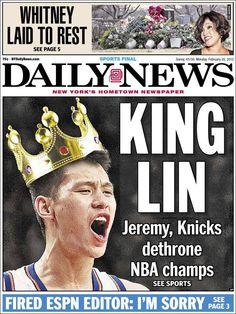 'King Lin', portada del NY Daily News