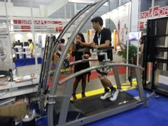 robowalk has been on display at Rehab Tech Asia exhibition in Singapore, where our distributor United BMEC represented h/p/cosmos medical and rehab treadmills.