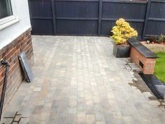 Get your garden Summer Ready  with a new patio  :0) If you want a block paving patio or driveway  Call Colin on 07966476446 or  Email coling70@hotmail.co.uk Block Paving Patio, Tile Floor, Stone, Garden, Outdoor Decor, Summer, Courtyards, Rock, Summer Time