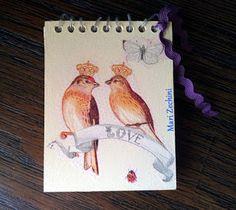 Toka da Arte Atelier: Caderninho de Anotações Vintage em mdf!