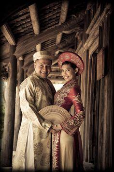 #aodai wedding