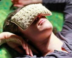 Show off your knit AND crochet skills with this Aromatherapy Eye Pillow pattern. A perfect gift for the person in your life who most needs a spa day at home!