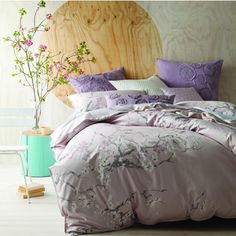 Linen House Australia are the leaders in Bed Linen, Quilt Cover Sets & Homewares. Shop our huge range of fashion quilt covers, sheets Online today! Mauve Bedding, Linen Bedding, Bed Linens, Comforter, Contemporary Bed Linen, Pastel, Buy Bed, Quilt Cover Sets, Cool Beds