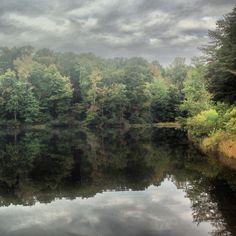 Lake at Crowders Mountain NC