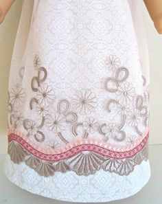 RESERVED FOR VAN, American Girl Doll Clothes, Caroline & Josefina, Special Evening, Regency Dress. $30.00, via Etsy.