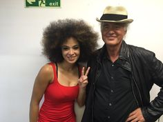 "Kandace Springs on Twitter: ""Got to meet and perform alongside rock legend Jimmy Page yesterday on @BBCLater! So dope! https://t.co/vOL3DjxBh1"""