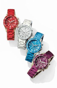 Marc by Marc Jacobs Rock Chronograph Colored Watches