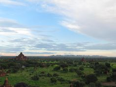 Bagan, Myanmar. Been there. Peaceful country that one can't miss