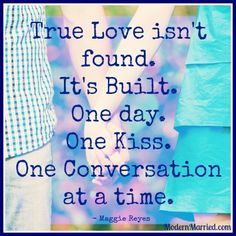True love.   love quotes, after the wedding, relationship quotes