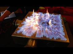 2,500 Flaming Gas Burners Make This One Awesome Audio Visualizer #Science #Rubens_Tube