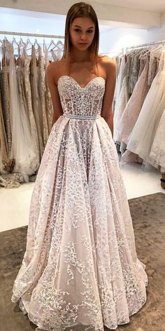 10 Wedding Dress Designers You Want To Know About ❤ wedding dress designers lace strapless sweetheart neckline a line trendy berta ❤ See more: http://www.weddingforward.com/wedding-dress-designers/ #weddingforward #wedding #bride #weddingdress