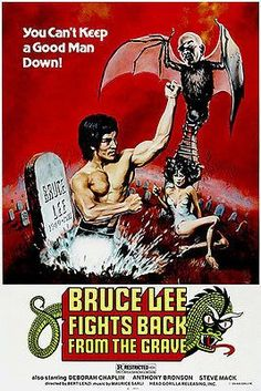 Bruce Lee Fights Back from the Grave Movie Poster Print x The Stranger, Kung Fu Martial Arts, Martial Arts Movies, Grave Movie, Cirque Vintage, 1976 Movies, Kung Fu Movies, Original Movie Posters, Wrestling