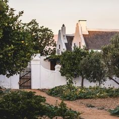 Cape Dutch manor house with olive and citrus orchards. 🍃 Escape the busyness of city life and come visit Babylonstoren farm in the Cape Winelands near Cape Town, South Africa. Garden Cottage, Home And Garden, Landscape Design, Garden Design, Cape Dutch, Olive Gardens, Best Resorts, Farm Life, Farm House