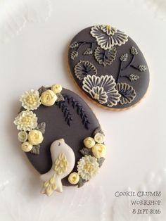 アイシングクッキー|~Cookie Crumbs~クッキー・クラムズのアイシングクッキー Fancy Cookies, Iced Cookies, Cute Cookies, Easter Cookies, Cookie Frosting, Royal Icing Cookies, Cupcakes, Cupcake Cakes, Colorful Desserts