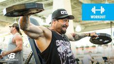 Plates of Pain | Kris Gethin Shoulder Workout