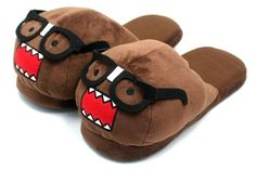 Nerd Domo Plush Slippers
