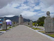 Middle of the World monument, Ecuador - one of three & I visited all 3.