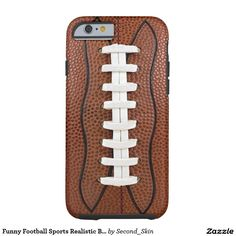 Funny Football Sports Realistic Ball Tough iPhone 6 Case