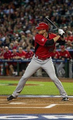Michael Saunders Canada WBC World Baseball Classic, Baseball Field, Baseball Cards, Wbc, Canada, Sports, Hs Sports, Sport