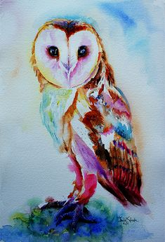 'Barn Owl' by Isabel Salvador
