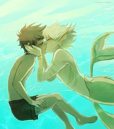 Merman Dirk Strider <3 Jake English. Merstuck. THAT IS SO CUTE WHY AM I…