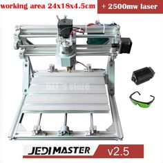 270.72$  Watch now  - CNC 2418+2500mw laser GRBL control Diy high power laser engraving CNC machine,3 Axis pcb Milling machine,Wood Router+2.5w laser