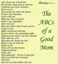 A Good Mom