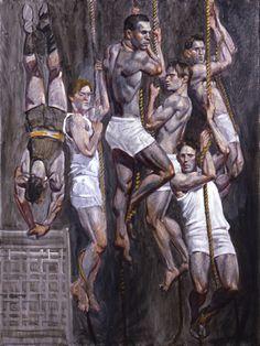 Bruce+Sargeant+(1898-1938),+Rope+Climbers+II,+1930.jpg (378×504)