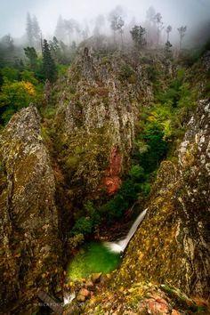 Poço do Inferno - Natural Park Serra Estrela, Portugal