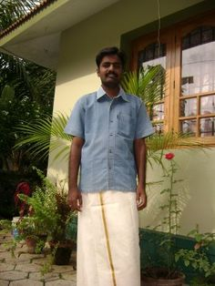 Mundu: A garment worn around the waist in Kerala, the Dakshina Kannada district of Karnataka, and also in Maldives. This garment is closely related to the Dhoti, Sarong, and Lungi. In South Kanara, a district of Karnataka state, the Tulu speaking folk and Beary community also wear the mundu. It is normally woven in cotton and coloured white or cream Karnataka, Monsoon, Maldives, Kerala, Folk, Men Casual, Sari, Community, Memories