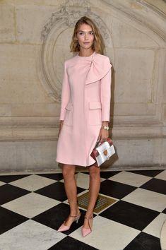 Arizona Muse at Christian Dior - The Best Front Row Fashions at Paris Fashion Week Spring 2017 - Photos