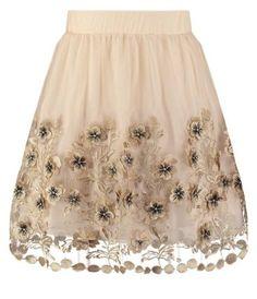 Tfnc Falda Plisada Gold vestidos y faldas Tfnc plisada Gold falda Noe.Moda