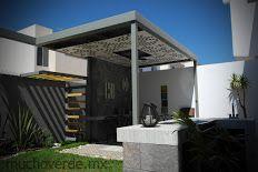 ARQ. JORGE ORDOÑEZ #patio #design #celosia #pergola